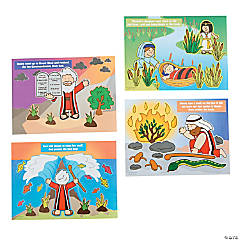 Stories of Moses Mini Sticker Scenes