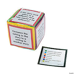 Story Elements Pocket Dice Card Set