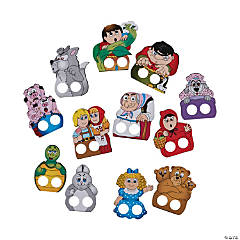 Storytime Finger Puppets
