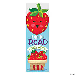 Strawberry-Scented Bookmarks