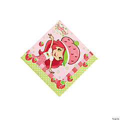 16 Strawberry Shortcake™ Beverage Napkins