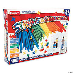 Straws and Connectors: 705 Piece Set