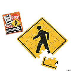 Street Signs Mini Puzzles