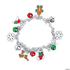 Stretchy Christmas Bell Bracelet Craft Kit