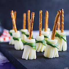 String Cheese Witch Brooms Recipe