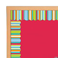 Stripes & Stitches Bulletin Board Borders