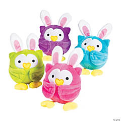Stuffed Easter Owls
