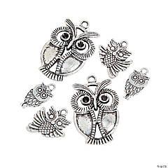 Stylized Owl Charms