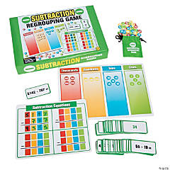 Subtraction Regrouping Game