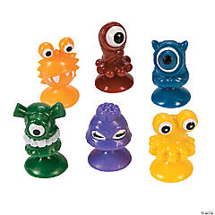 Suction Cup Mini Monster Characters