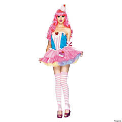 Sugar & Spice Cupcake Adult Women's Costume