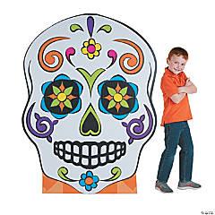 Sugar Skull Cardboard Stand-Up