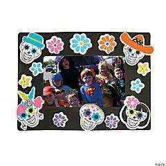Sugar Skull Picture Frame Magnet Craft Kit