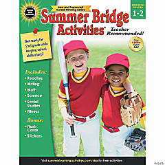 Summer Bridge Activities® Workbook, Grades 1-2