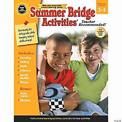 Summer Bridge Activities® Workbook, Grades 3-4