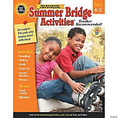 Summer Bridge Activities® Workbook, Grades 4-5