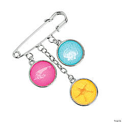 Summer Fun Charm Pin Craft Kit