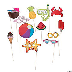 Summer Fun Photo Stick Props