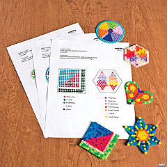 Summer Fuse Bead Free Template Idea