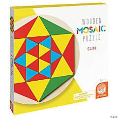Sun Mosaic Wood Puzzle