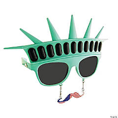 Sun-Stache Statue of Liberty Glasses