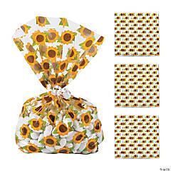 Sunflower Cellophane Bags