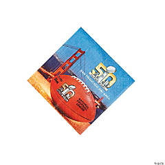Super Bowl 2016 Beverage Napkins