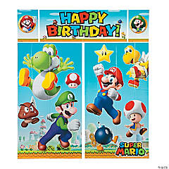 Super Mario™ Backdrop Set