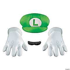 Super Mario Brothers Luigi Accessory Kit for Adults
