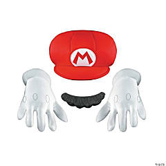 Super Mario Brothers Mario Accessory Kit for Kids