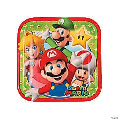 Super Mario™ Brothers Paper Dessert Plates