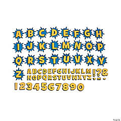 Superhero Bulletin Board Letters