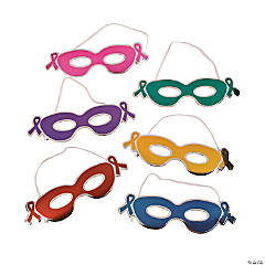 Superhero Cancer Awareness Masks