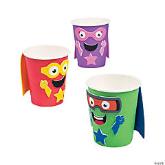 Superhero Characters Treat Cup Craft Kit
