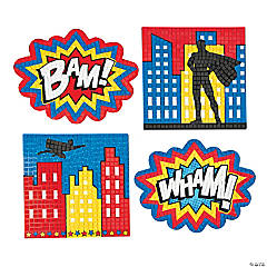 Superhero Extreme Mosaic Kit