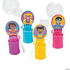 Superhero Girl Bubble Bottles
