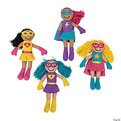 Superhero Girl Plush Dolls
