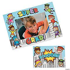 Superhero Graduation Magnetic Picture Frames