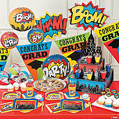 Superhero Graduation Party Supplies