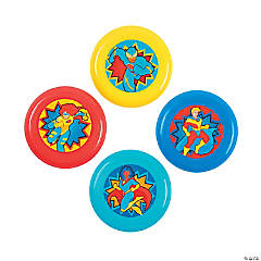 Superhero Mini Flying Discs