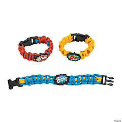Superhero Paracord Bracelet Craft Kit