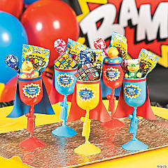 Superhero Party Favor Idea