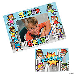Superhero Picture Frame Magnets