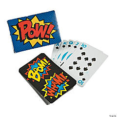 Superhero Playing Cards