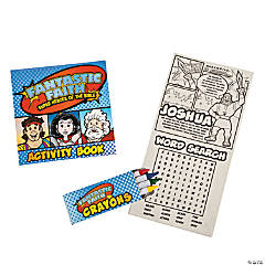 Superhero Quest Activity Books with Crayons