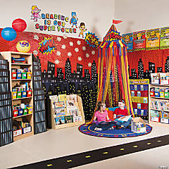 Superhero Reading Corner Idea