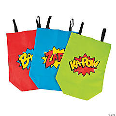 Superhero Sack Race Bags