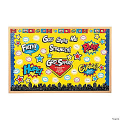 Superhero VBS Bulletin Board Set