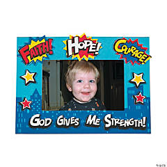 Superhero VBS Picture Frame Magnet Craft Kit
