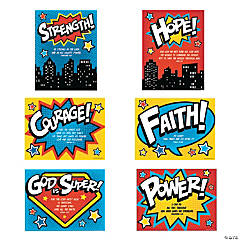 Superhero VBS Poster Set